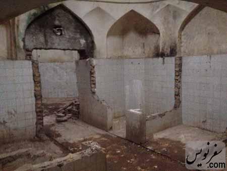 اولین حمام ثبتی استان گیلان«حمام گلشن»در حال تخریب!
