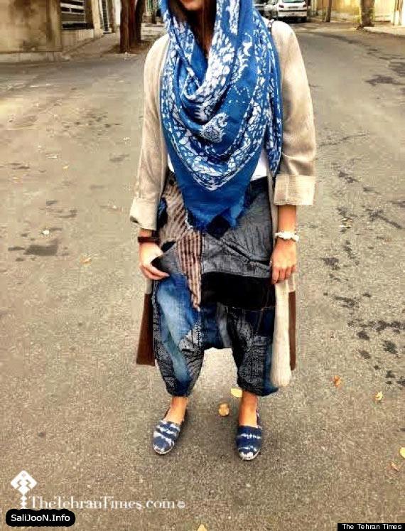 رواج پوشاک جدیدی از دختران بدحجاب گیلانی در جامعه! + تصاویر