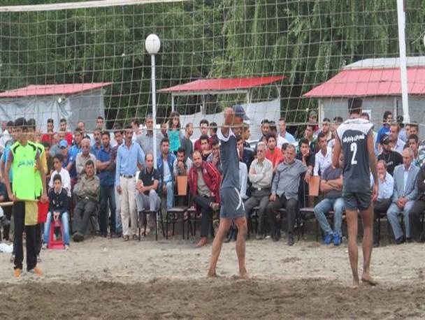 مسابقات والیبال ساحلی جام هفته دولت