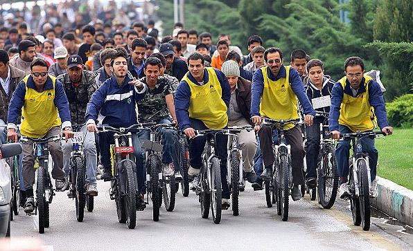 همایش بزرگ دوچرخه سواری همراه با جوایز ارزنده در رشت
