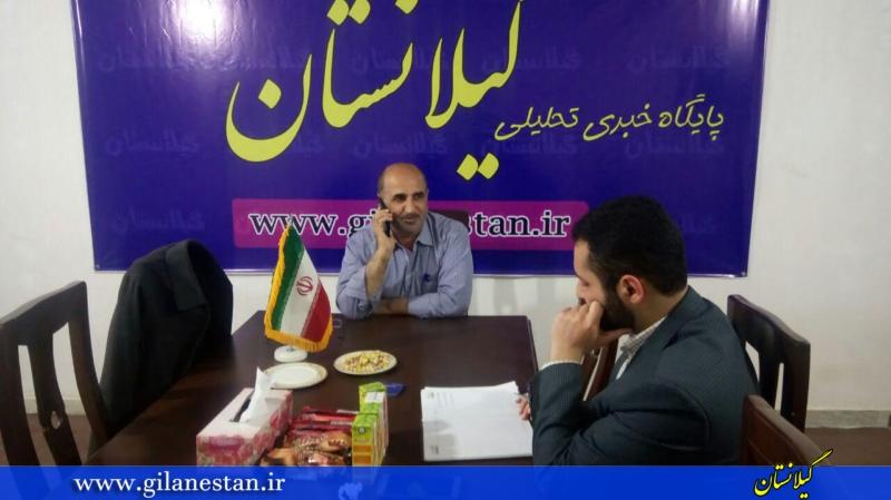 بازدید رئیس کمیسیون فرهنگی شورای شهر رشت از تحریریه گیلانستان + تصاویر