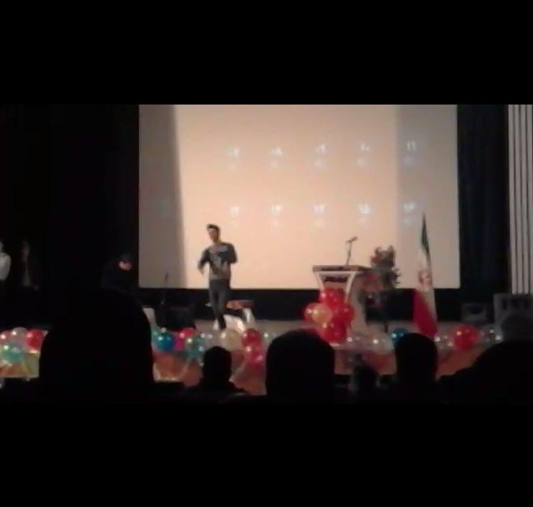 مراسم روز دانشجو در صومعه سرا با چاشنی رقص و آواز و لودگی!!+ فیلم