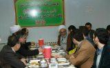 صرف ناهار دانشجویی امام جمعه رشت در سالن غذاخوری دانشگاه شهید چمران+ تصاویر
