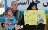 گزارش تصویری مراسم تشییع پیکر مطهر شهید جوینده در رشت