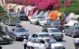 ورود بی سابقه مسافران به گیلان / بیش از ۲۲۰ هزار خودرو وارد استان شد