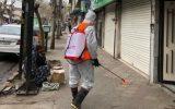 ادامه روند ضدعفونی روزانه معابر شهر لاهیجان توسط شهرداری + تصاویر