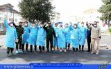 بسیجیانی که حتی یک لحظه خدمت در بیمارستان رازی را ترک نکردند/ گردان یکم امام حسین(ع) رشت همچنان در جهاد+ تصاویر