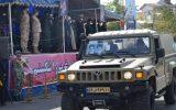 گزارش تصویری/ رژه لجستیکی و موتوری نیروهای مسلح گیلان به مناسبت روز ارتش