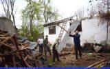تجهیز و بازسازی منزل پیرمردی در رشت که سال گذشته کاملا تخریب شده بود+ گزارش تصویری