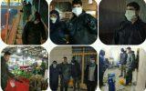 بسیج کانونهای مساجد گیلان در مبارزه با کووید 19 / جهاد جوانان همچنان ادامه دارد
