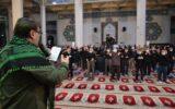 اشک و ناله مردم رشت در احیای سومین شب از لیالی قدر در مصلی امام خمینی(ره) + تصاویر