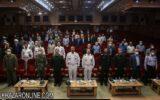 گزارش تصویری آیین تکریم و معارفه مدیرکل حفظ آثار و نشر ارزش های دفاع مقدس در گیلان