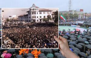 تصاویر دوران دفاع مقدس در شهرداری رشت
