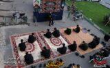 گزارش تصویری/ حسینیه سیار هیئت شهدای گمنام در کوچه پس کوچههای رشت