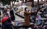 حضور مسافران در بازارهای کرونایی گیلان/ اصناف عیار بهداشتی استان