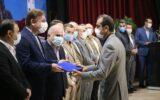 گزارش تصویری/ آیین تودیع و معارفه شهردار جدید رشت با حضور مسئولین استانی