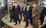 ایجاد ۳۰۰هزارشغل توسط ستاد فرمان امام/ طرح توسعه شرکت گلدشت افشره به بهره برداری رسید