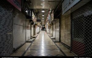 گزارش تصویری/ اجرای محدودیتهای کرونایی و تعطیلی بازار در رشت