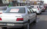 کاروان رژه خودرویی از گلزار شهدا تا میدان شهدای ذهاب رشت+ تصاویر