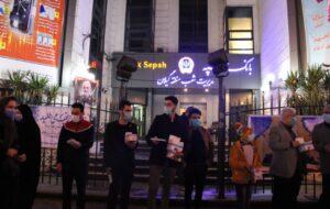 توزیع بیش از ۴۰۰۰ ماسک در خیابان مطهری رشت+ تصاویر