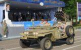 رژه خودرویی روز ارتش در رشت به روایت تصویر