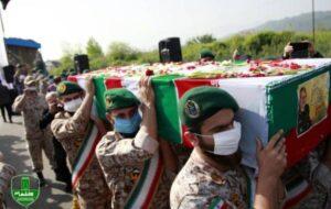 گزارش تصویری/ مراسم تشییع و خاکسپاری سردار حق بین در لنگرود