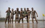 مسابقات فوتچل در روستای کینچاه ( فوتبال در گل )+ تصاویر