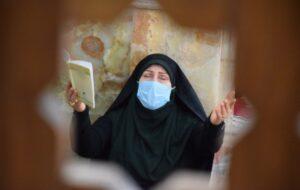 احیای شب بیست و سوم ماه رمضان در مصلی رشت/ گزارش تصویری