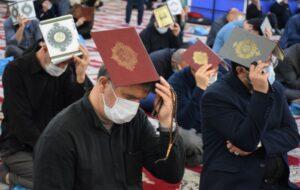 گزارش تصویری/ احیای دومین از شب از لیالی قدر در مصلی امام خمینی(ره)
