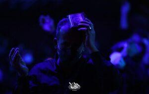 احیای شب ۲۱ ماه رمضان در هیئت ام ابیها(س) رشت+ گزارش تصویری