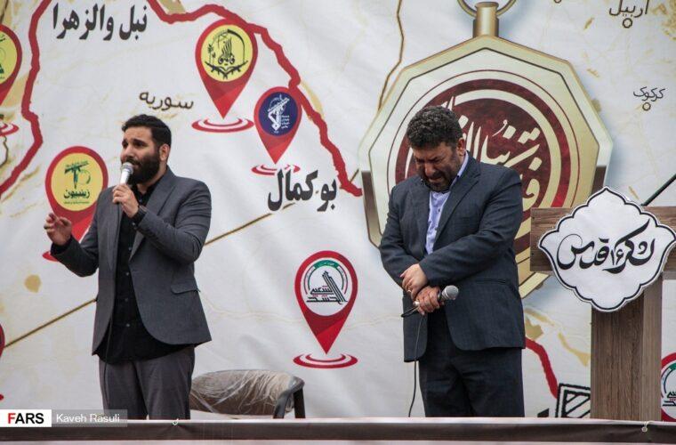 گزارش تصویری/ چهلمین روز از عروج شهادت گونه فرمانده فاتح گیلانی