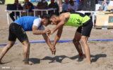 گزارش تصویری/ مسابقات کشتی ساحلی قهرمانی کشور در بندرانزلی