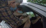 گزارش تصویری/ واکسیناسیون خودرویی در دانشگاه گیلان