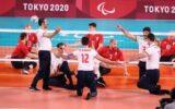 مدال طلای ورزشکار گیلانی همراه با تیمملی والیبالنشسته در توکیو